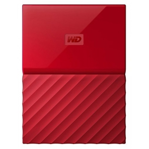 WD My Passport Ultra New Design 3TB [WDBYNN0030BRD] - Red