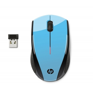 HP X3000 Wireless Mouse - Blue [K5D27AA]