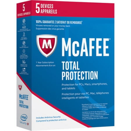 McAfee Total Protection 2017 - 5 User