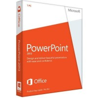 Microsoft PowerPoint 2013 32-bit/x64 English DVD