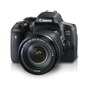 Canon EOS 750D Kit EF-S 18-135mm IS STM