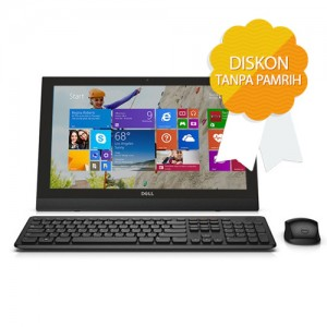 DELL Inspiron All in One 20-3043-N3540 - DISKON TANPA PAMRIH