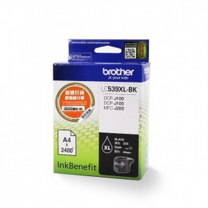 BROTHER Black Ink Cartridge LC-39 BK
