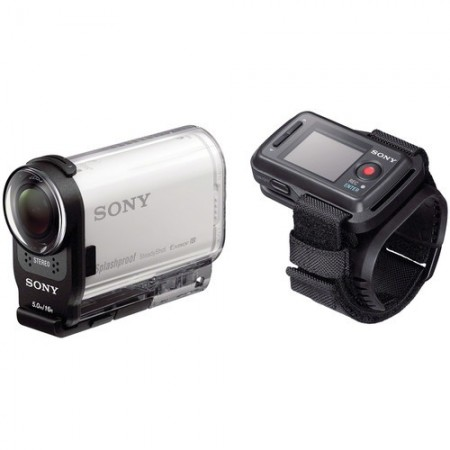 SONY Full HD Action Cam with Live View Remote Control HDR-AS200VR