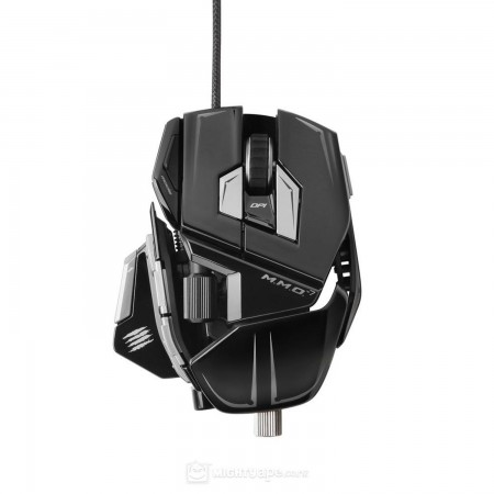 Madcatz M.M.O. 7 Mouse - Gloss black