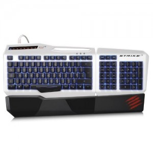 Mad Catz S.T.R.I.K.E.3 K/B - White US