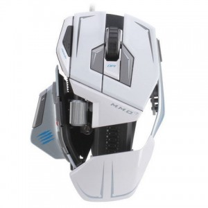 Madcatz M.M.O. 7 Gaming Mouse - White
