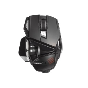 Mad Catz M.O.U.S. 9 Gaming Mouse - Gloss Black