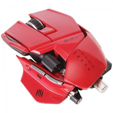 Mad Catz R.A.T. 9 Gaming Mouse - Red