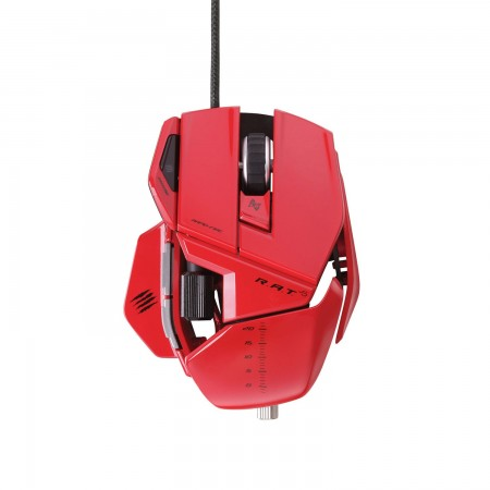 Mad Catz R.A.T. 5 Gaming Mouse - Red