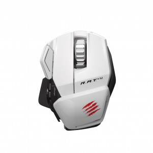 Mad Catz R.A.T. M Gaming Mouse - White
