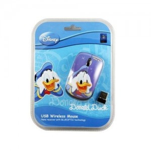 UNIQUE Disney Wireless Mouse Blue Optic Donald Amazing - DS-WM-DAZ