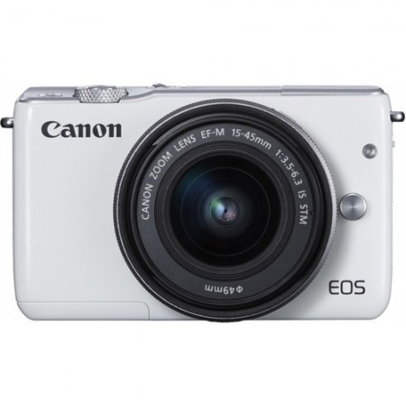 Canon EOS M10 Double Kit - White