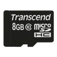 TRANSCEND Micro SDHC Class 10 -  8GB [No Adapter]