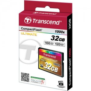 TRANSCEND Compact Flash 1000x - 32GB