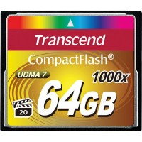 TRANSCEND Compact Flash 1000x - 64GB