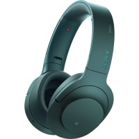 SONY h.ear on Wireless Noice Cancelling Headphone MDR-100ABN - Viridian Blue
