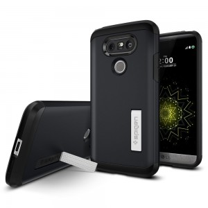 SPIGEN Case LG G5 Case Tough Armor - Metal Slate