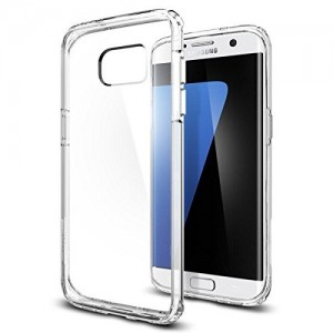 SPIGEN Samsung Galaxy S7 Edge Case Ultra Hybrid - Crystal Clear