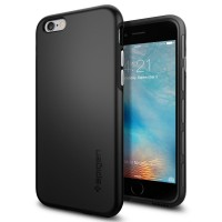SPIGEN iPhone 6 Plus Case Thin Fit Hybrid - Black