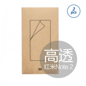 Xiaomi Original Screen Protector Redmi Note 2 - Clear [2pcs]