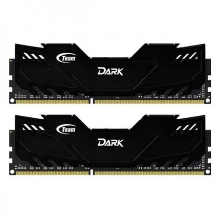 TEAM Xtreem Dark 8GB DDR3 PC12800 (4x2GB) - TDD38G1600HC9DC01