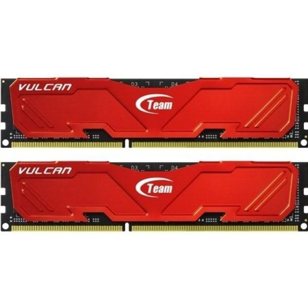 TEAM Vulcan Series 8GB DDR3 PC12800 (2x4GB) - TLRED38G1600HC9DC01
