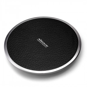 NILLKIN Qi Wireless Charger Magic Disk III Leather Black