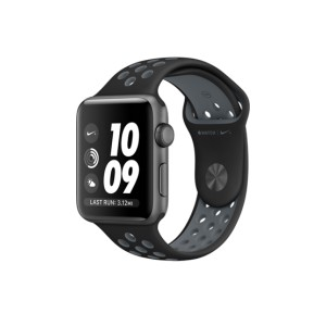 APPLE Watch 2 Series 2 Aluminium Gray with Black/Cool Nike Sport Band 42mm MNYY2