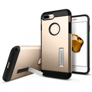 SPIGEN iPhone 7 Case Tough Armor - Champagne Gold