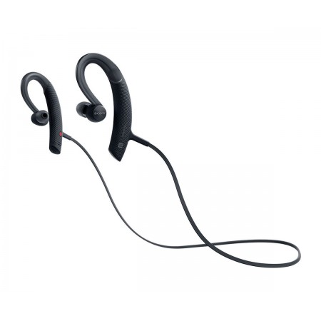 SONY Extra Bass Sports Bluetooth In Ear Headphone MDR-XB80BS - Hitam