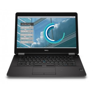 DELL Latitude E7270-6600U-256GB-Touch Black
