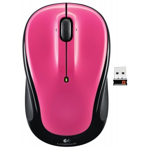LOGITECH M325 Wireless Mouse - Pink