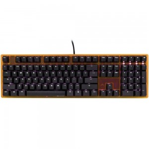 Ducky One LED Fullsize ABS Orange [DKON1508S-RUSADATW2] - Red Switch