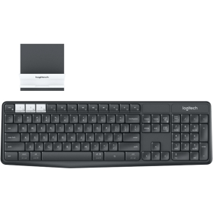 LOGITECH Multi-Device Wireless Keyboard And Stand Combo 375s