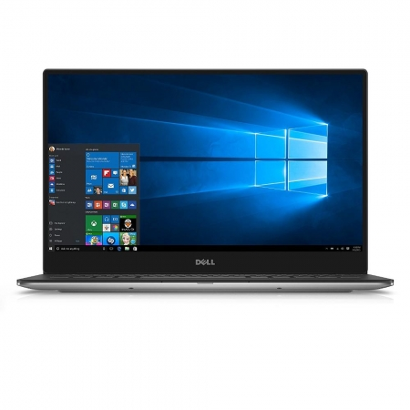 DELL XPS 15-7700HQ-16GB-512GB-4K Infinity Display Silver