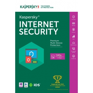 Kaspersky Internet Security 2018 -3 User