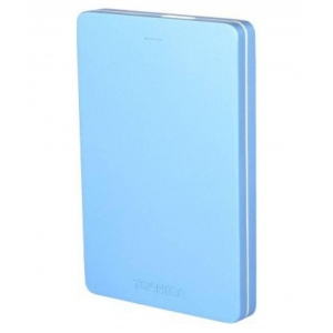 Toshiba Canvio Alumy Portable Hard Drive 2TB - Blue