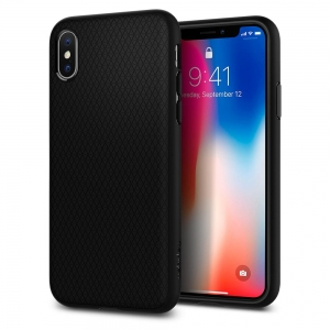 SPIGEN Iphone X Case Liquid Air Matte Black 057CS22123