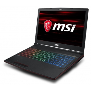 MSI GP63-8RE-466-8750H-8GB-128GB-1TB-16GB Optane-GTX1060M-Win10 Black