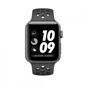 Apple Watch Nike+ Series 3 Space Grey Aluminium Case with Anthracite/Black Nike Sport Band 42mm