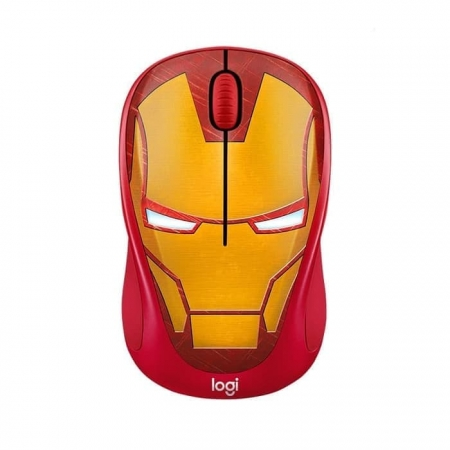 LOGITECH M238 Wireless Mouse - Iron man