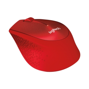 LOGITECH M331 Wireless Mouse - Red