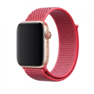 Apple Watch Band 44mm Hibiscus Sport Loop