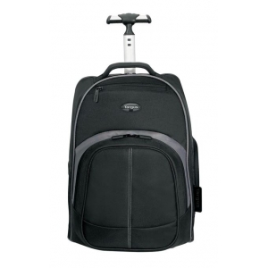 "TARGUS 16"" Compact Rolling Backpack [TSB750AP-72] - Black"