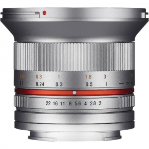 SAMYANG 12MM F/2 NCS FOR SONY - SILVER