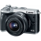 CANON EOS M6 KIT 15-45MM IS STM - Silver