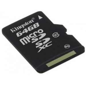 KINGSTON MicroSD Class 10 - 64GB