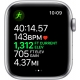 Apple Watch Nike Series 5 GPS Silver Aluminium Case with Pure Platinum/Black Nike Sport Band - 44mm