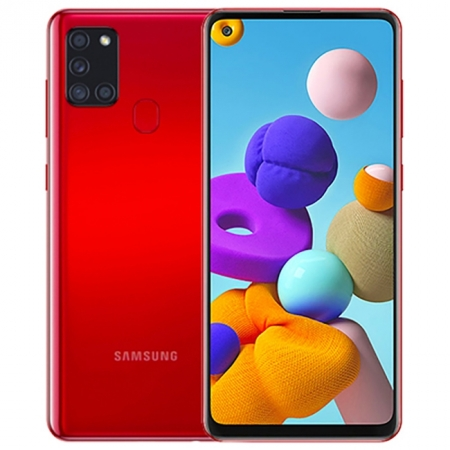 SAMSUNG Galaxy A21s (3/32GB) - Red
